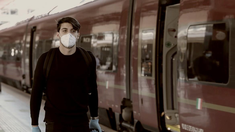 italia - italy - traino - treno - covid - koronoios1