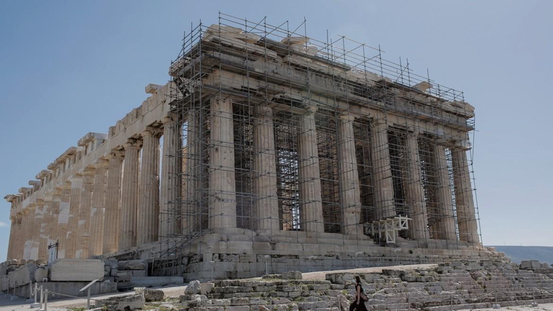 akropoli - acropolis - parthenonas - skalosies -ΦΩΤΟΓΡΑΦΗΣΗ ΚΩΣΤΑΣ ΤΣΙΡΩΝΗΣ ΑΠΕ ΜΠΕ 22-03-2021 -