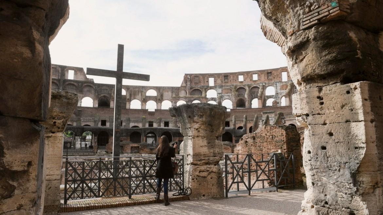 colosseum -koloseo -kolossaio -italy - ΦΩΤΟΓΡΑΦΙΑ ΑΠΕ ΜΠΕ 01-02-2021 -