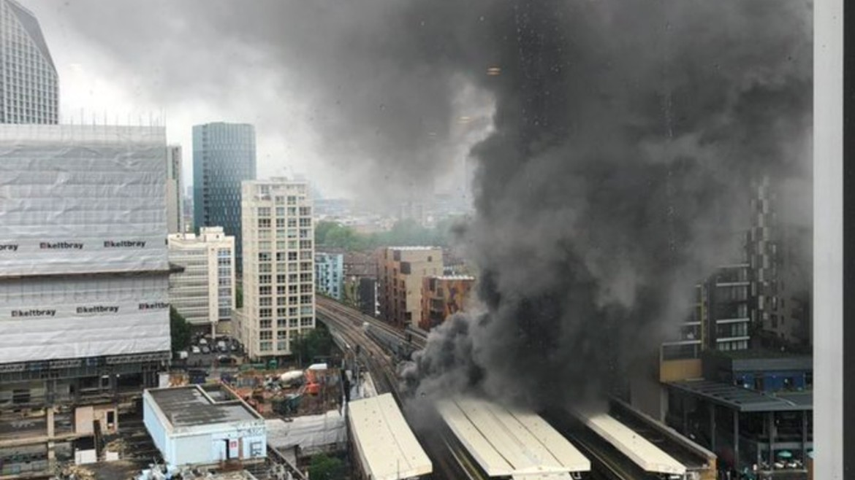 london - londino -fotia -metro - elephant and castle - πηγη London Fire Brigade - london-fire.gov.uk