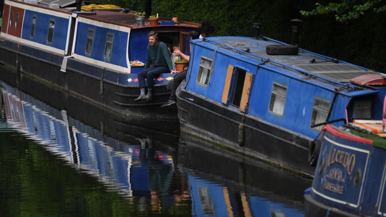 london - londino - kanali - varkes - ΦΩΤΟΓΡΑΦΙΑ ΑΠΕ ΜΠΕ 17-05-2020 -