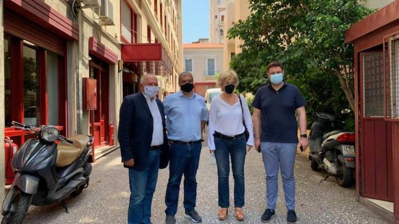 vouleftes - syriza - maskes - ypourgeio - politismou - syriza.gr -