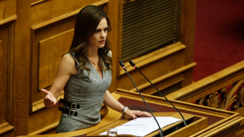 efi - ahtsioglou - syriza - vouli - vima - ΦΩΤΟΓΡΑΦΙΑ ΑΛΕΞΑΝΔΡΟΣ ΒΛΑΧΟΣ ΑΠΕ ΜΠΕ 17-12-2019 -
