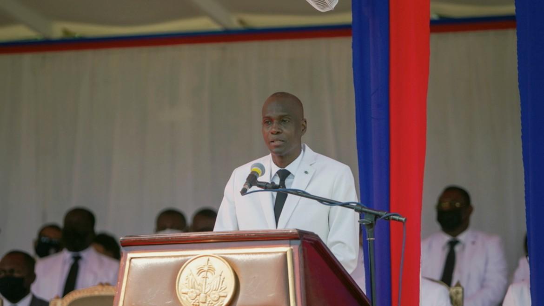 haiti - proedros - jovenel - moise - omilia ΦΩΤΟΓΡΑΦΙΑ ΑΠΕ ΜΠΕ 18-05-2021 -