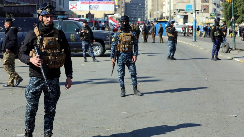 iraq - irak - astynomia - enoploi - isos stratiotes - opla -baghdad - plateia - φωτογραφια απε μπε 21-01-2021