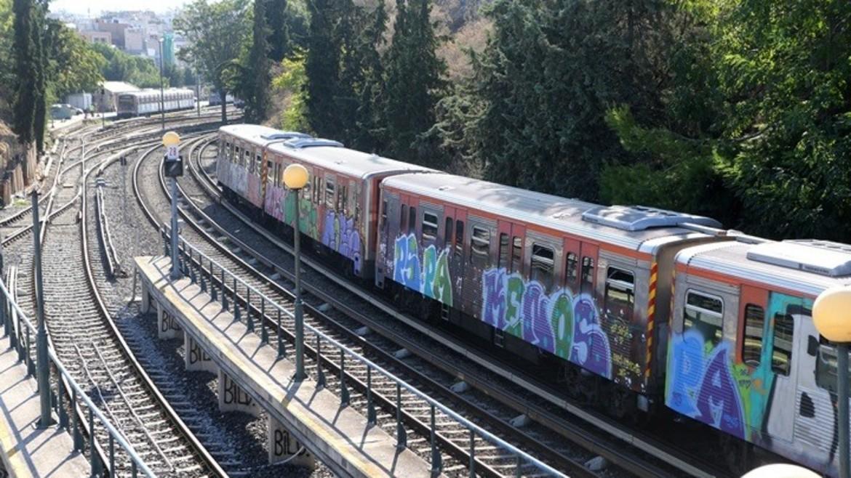 isap - metro - vagoni - syrmos -rages - ΦΩΤΟΓΡΑΦΙΑ ΑΠΕ ΜΠΕ--