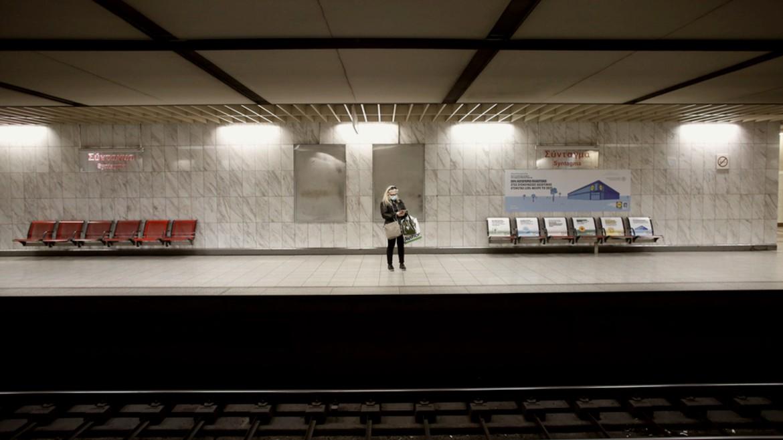 metro- stathmos - apovathra - rages - ΦΩΤΟΓΡΑΦΙΑ ΚΩΣΤΑΣ ΤΣΙΡΩΝΗΣ ΑΠΕ ΜΠΕ 13-03-2020--