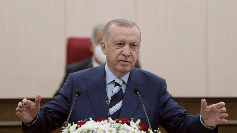 tagip - retzep - erdogan - erntogan - tourkia - ΦΩΤΟΓΡΑΦΙΑ ΑΠΕ ΜΠΕ 19-07-2021--