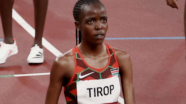 agnes - tzempet - tirop - jebet - athlitria - olympiakoi - tokio - ape mpe - 30-07-2021--