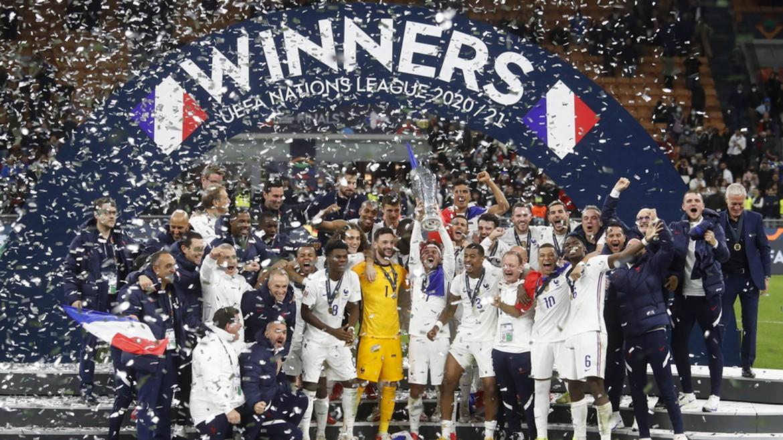 uefa - nations - league - kypello - gallia - nikites - podosfairo - podosfairistes - ape mpe 11-10-2021--